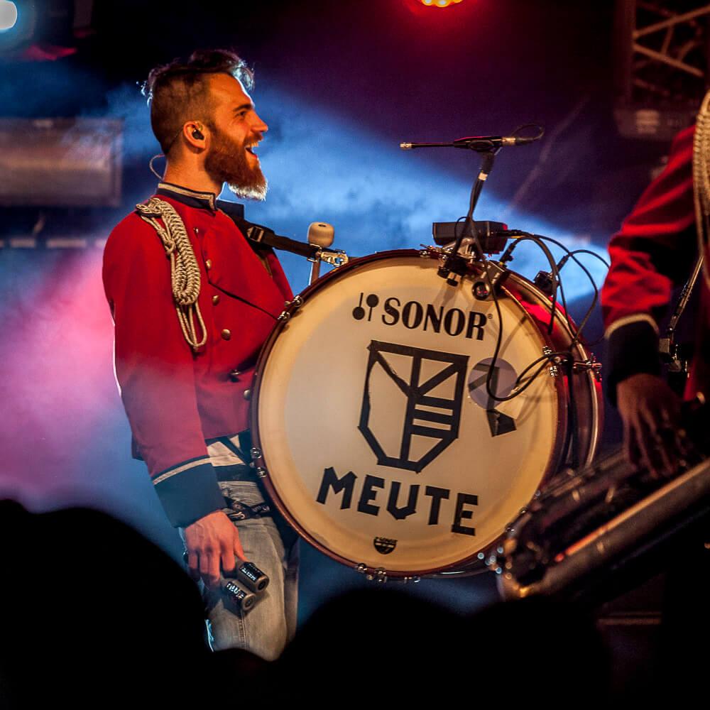 Meute à l'édition 2017 du Radio Meuh Circus Festival