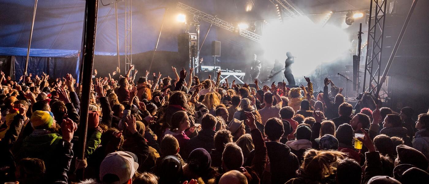 Les artistes du Radio Meuh Circus Festival