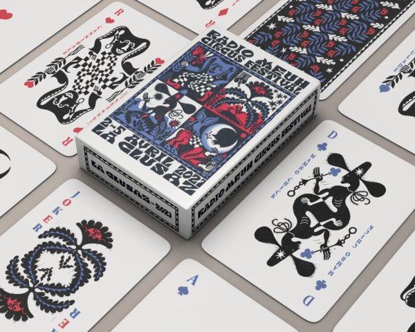 Jeu de cartes Radio Meuh Circus Festival 2021 - Boutique officielle