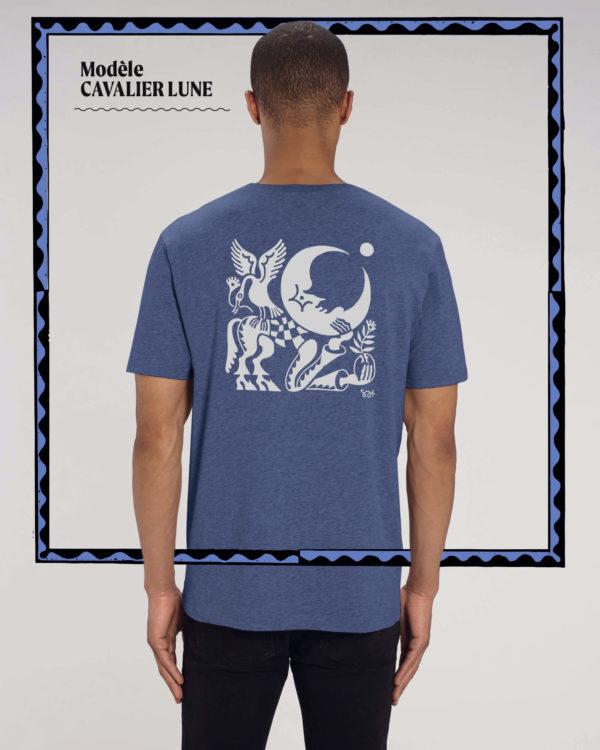 T-shirt Cavalier Lune - Radio Meuh Circus Festival