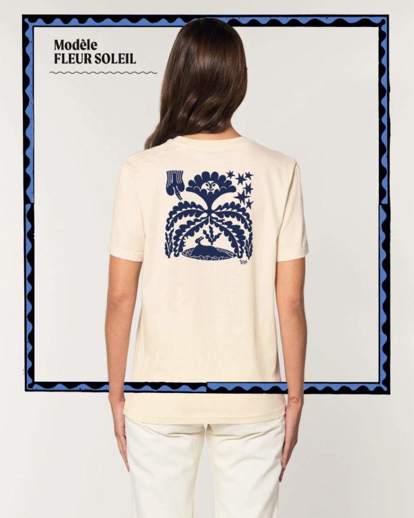 T-shirt Fleur Soleil - Radio Meuh Circus Festival