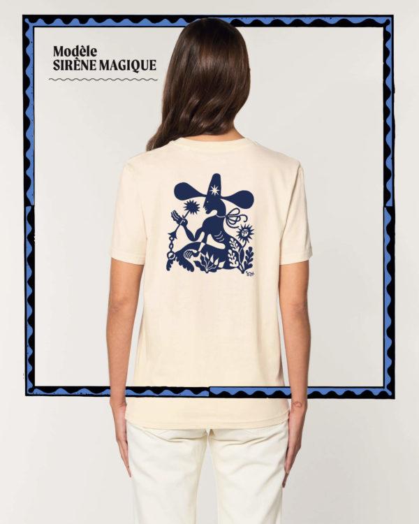 T-shirt Sirène Magique - Radio Meuh Circus Festival